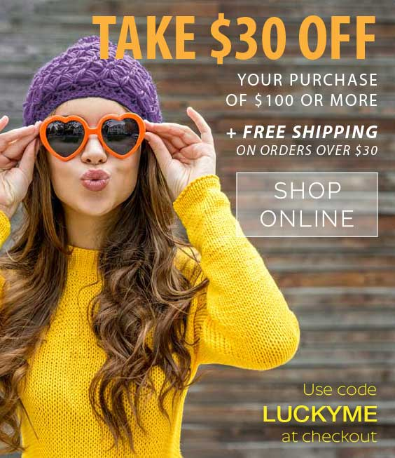$30 OFF purchase of $100 or more